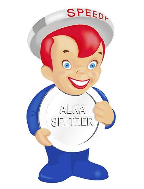 Speedy Alka-Seltzer character