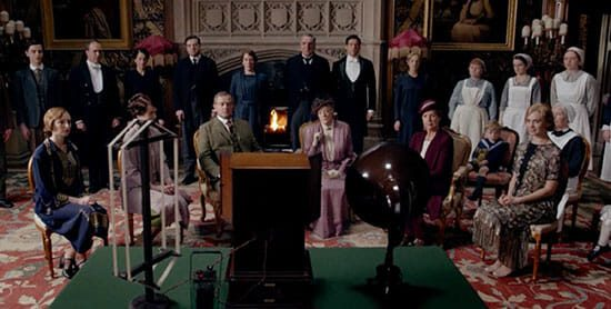 Downton Abbey radio