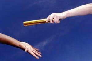 pass the baton