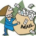 Donations by mail