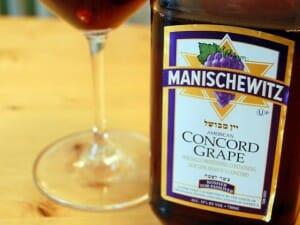 Manischewitz bottle
