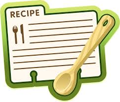 recipe for TY letter