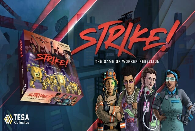 Strike board game