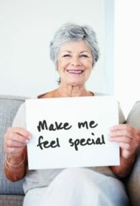 Make donor feel special